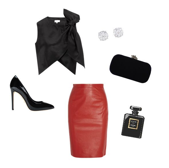 How to style a leather skirt