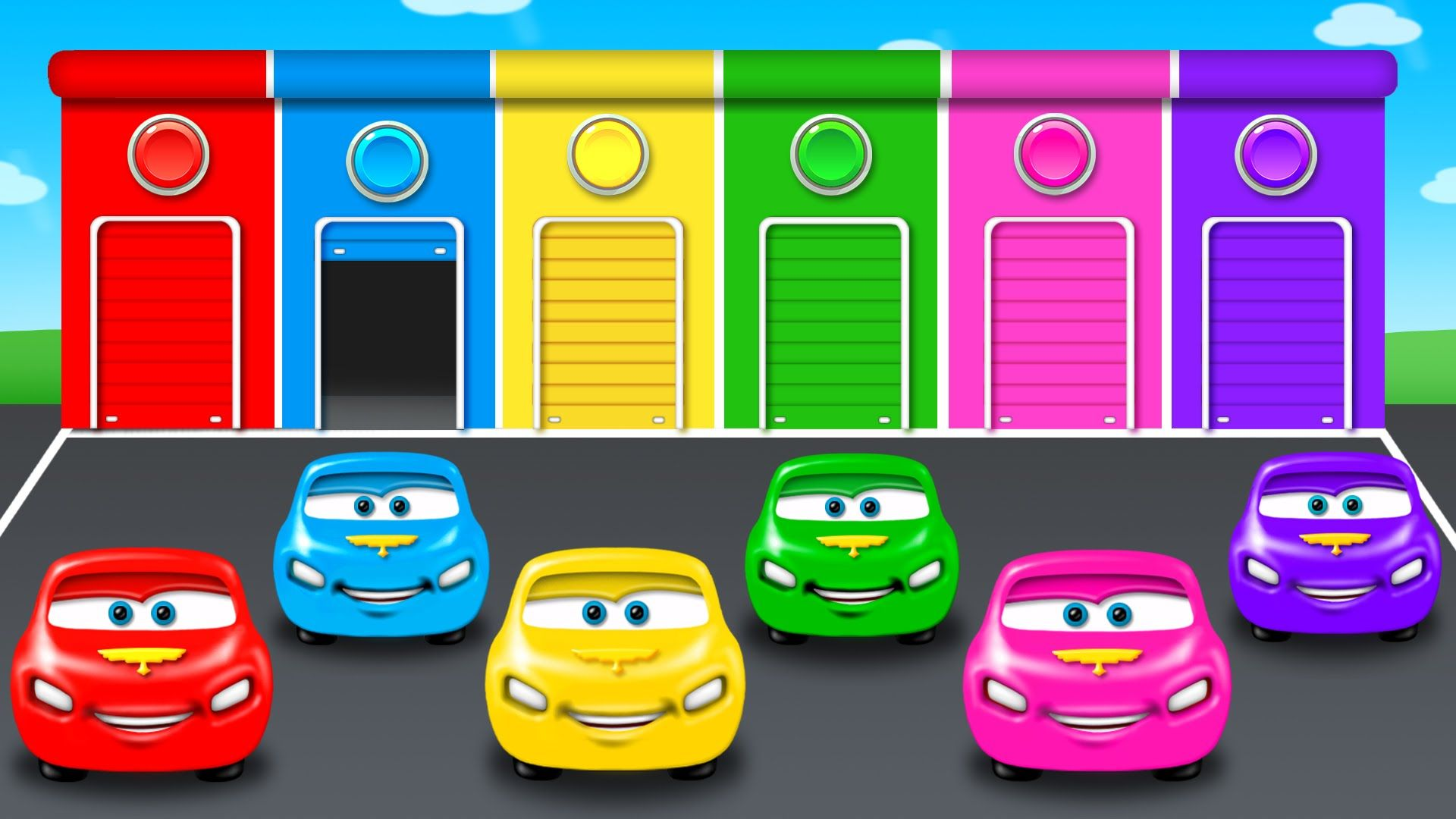 Colors For Children To Learn With Color Car Toy Colours For Kids To Learn Learning Videos Coloring For Kids Learning Colors Learning Games For Kids