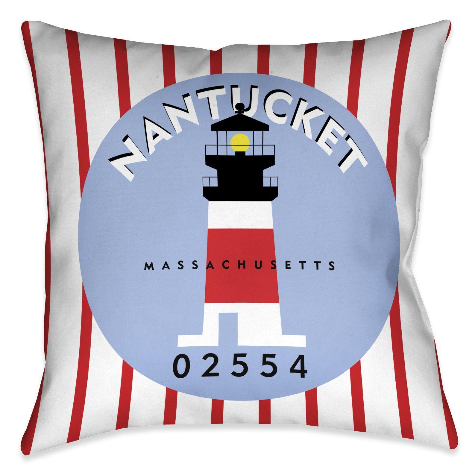 Ordinaire Nantucket I Indoor Decorative Pillow