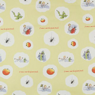George Ashley Wilde Roald Dahl 100/% Cotton Curtain and Upholstery Fabric Design