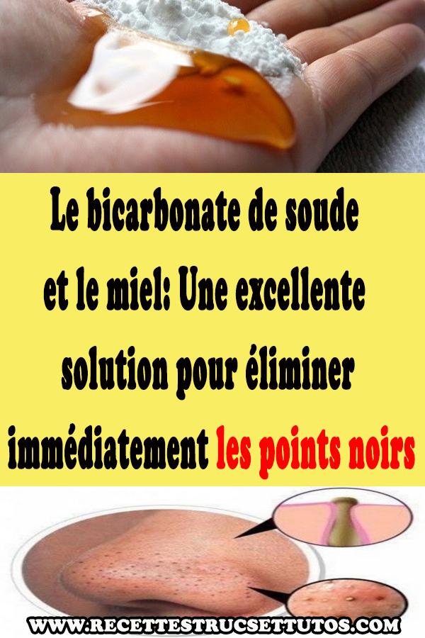 bicarbonate de soude point noir avis