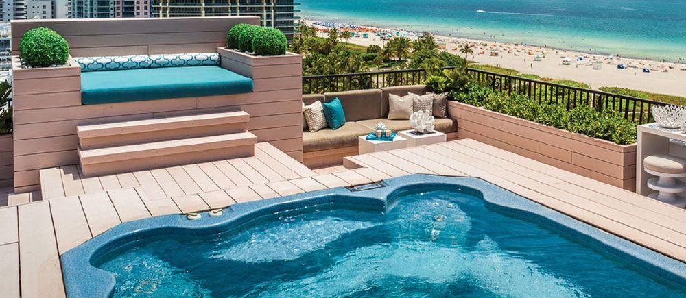 Pool Ideen poolumrandung 6 ideen für eine stilvolle optik am pool