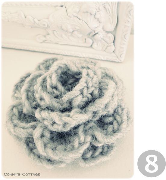 Crochetflower | Crochet & Knit | Pinterest | Flor, Ganchillo y ...