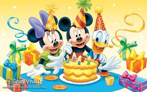 Character Birthdays Happy Birthday Mickey Mouse Mickey Mouse
