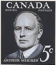 Source: advertisement, Arthur Meighen. Sir Robert Borden retired in 1919 due to health issues, so, Arthur Meighen took his place as the ninth Prime Minister of Canada. He then served two terms from 1920-1929.
