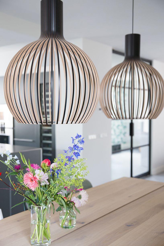 mooie lampen voor boven eettafel | Zilverschoon | Pinterest ...