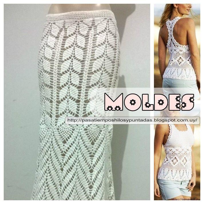 La moda más veraniega en tejidos artesaneles en la línea del crochet ...