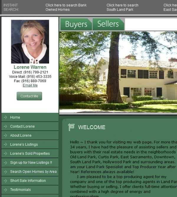 Hello ~ I thank you for visiting my web page. For more than 34 years, I have had the pleasure of assisting sellers and buyers with their real estate needs in the neighborhoods of Old Land Park, Curtis Park, East Sacramento, Downtown, South Land Park, Hollywood Park and surrounding areas. I am your Land Park Specialist and Top Producer Year after Year! References always available!