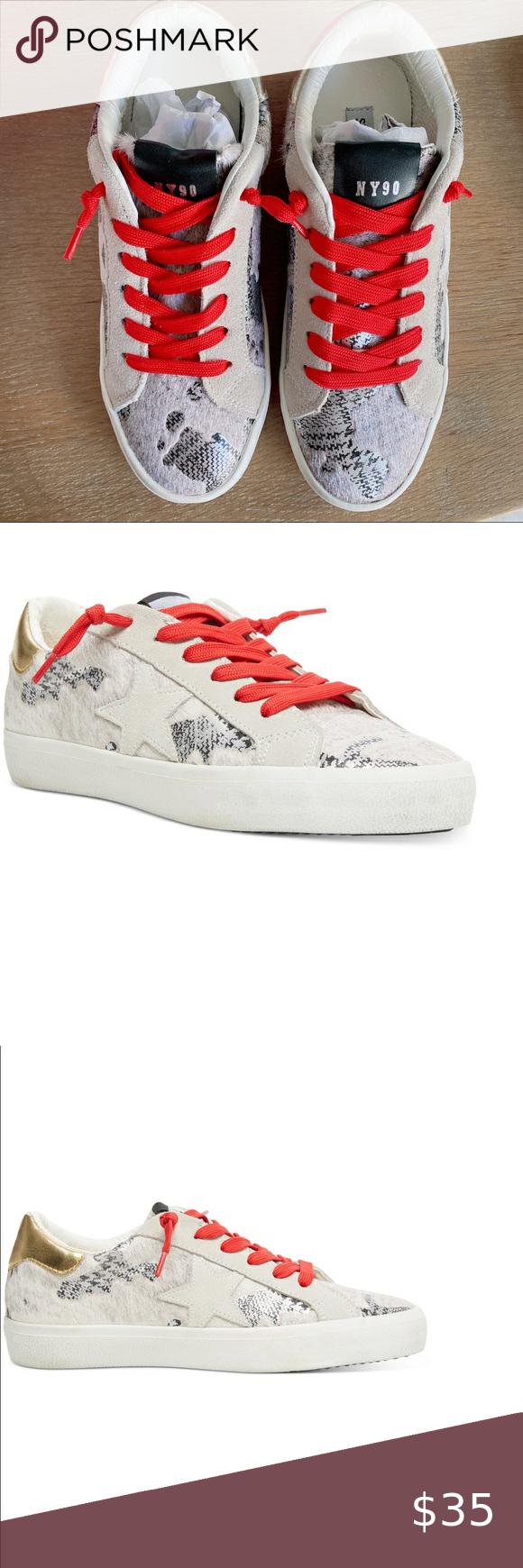 Sold Nib Steve Madden Philosophy Sneakers 7 Steve Madden Shoes Sneakers Lace Sneakers Sneakers
