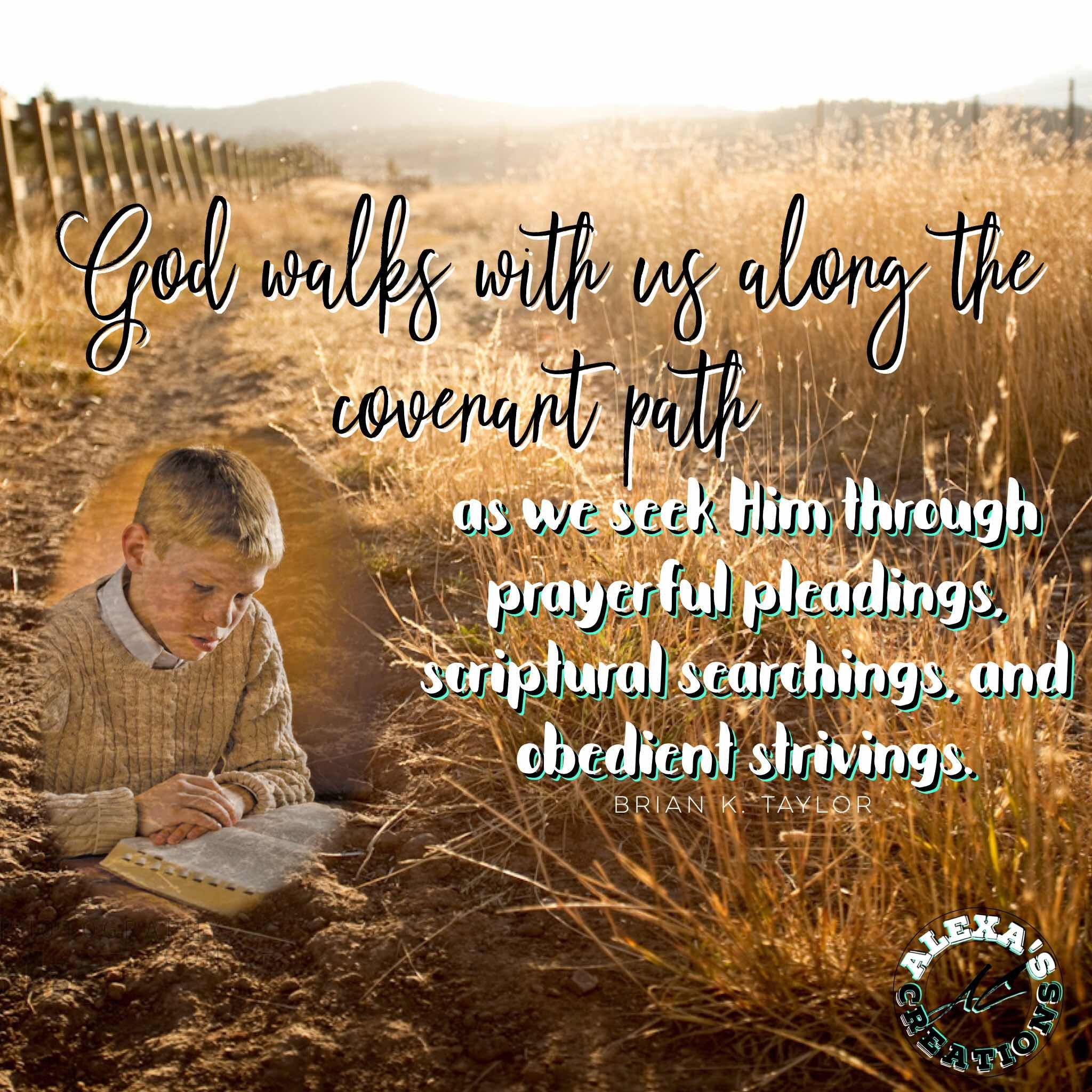 Youth Insights: Alexa: God walks with us along the covenant