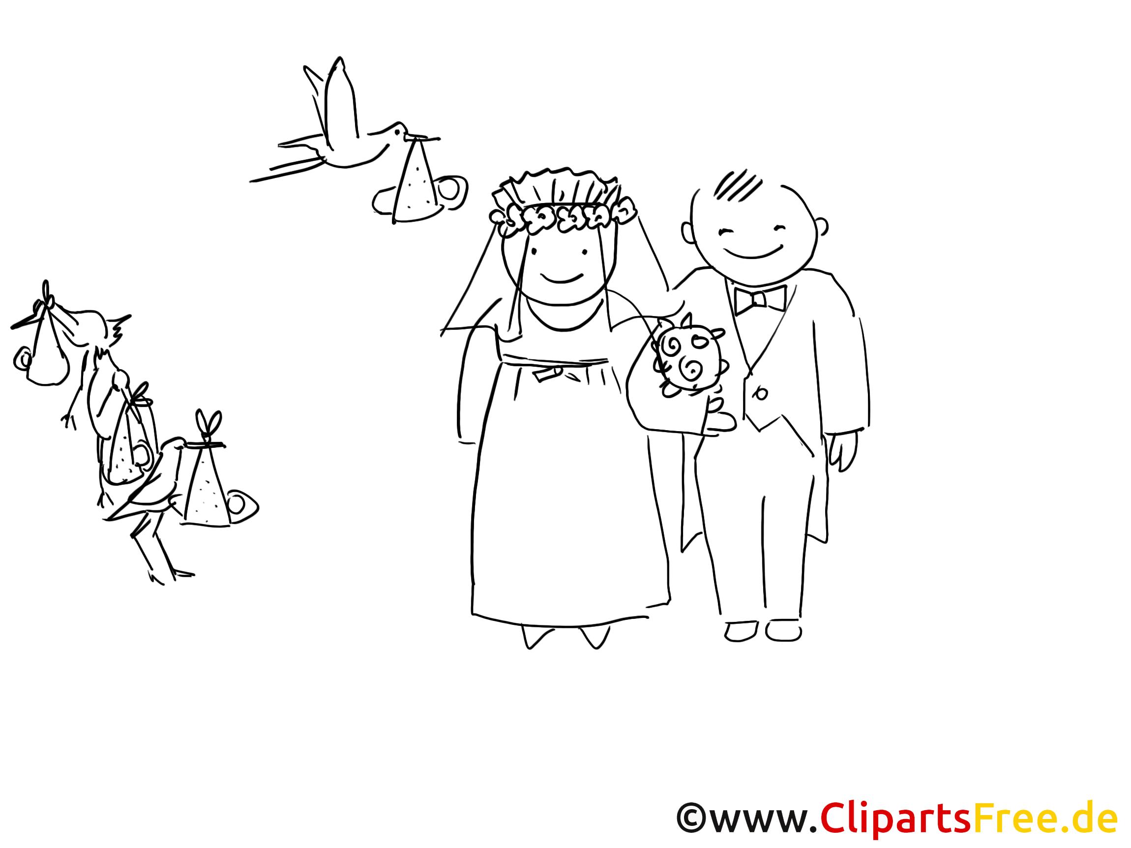 Brautpaar Ausmalbild | Hochzeit | Pinterest