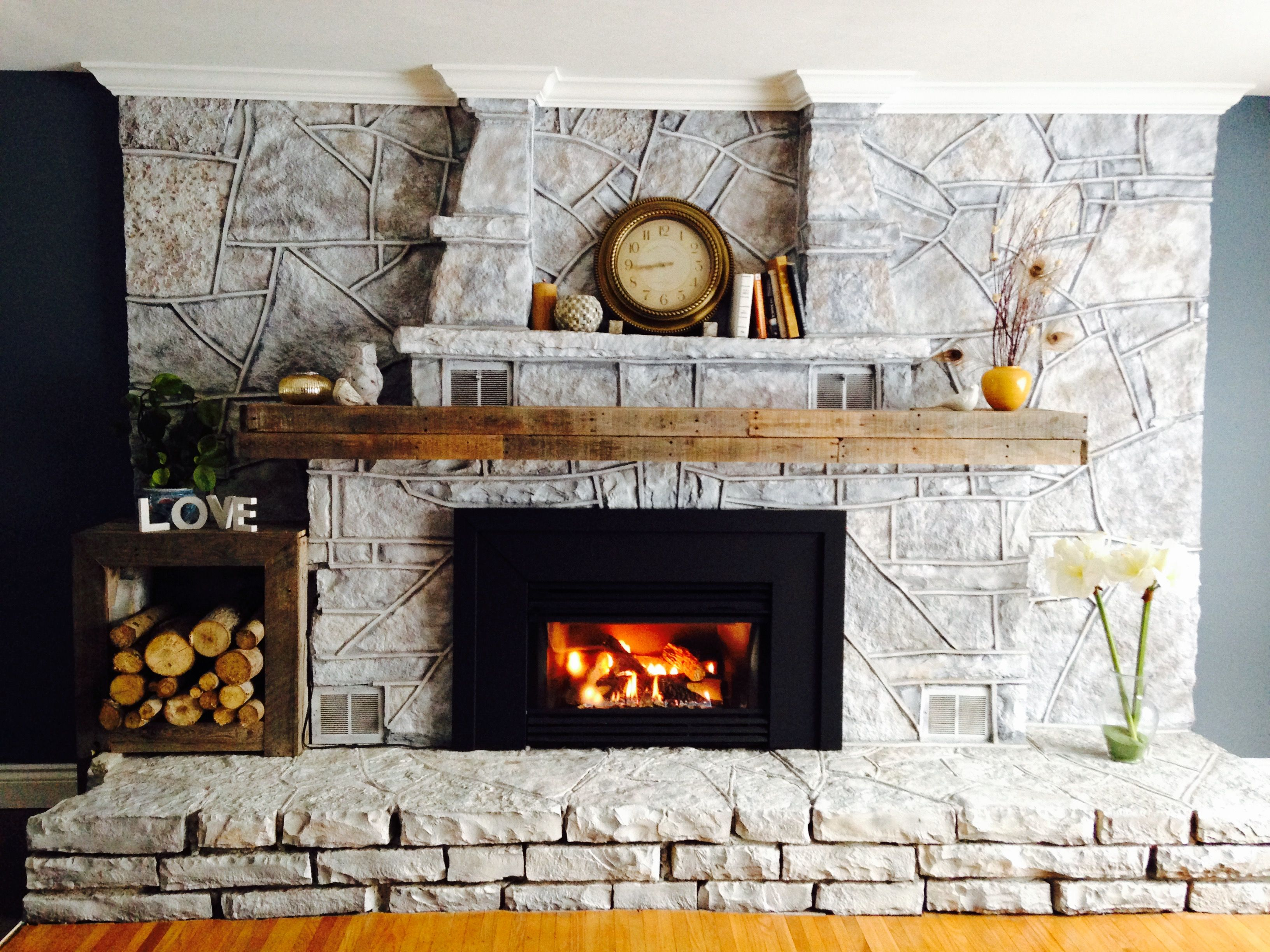 entertainment media fragment propane composed traditional stone fireplace metal frame wrought insert center tv with gas finishing black stand powered originalviews living style room