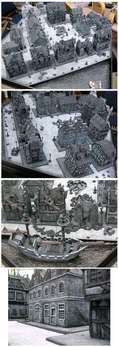 Monochrome Nosferatu Gaming Board