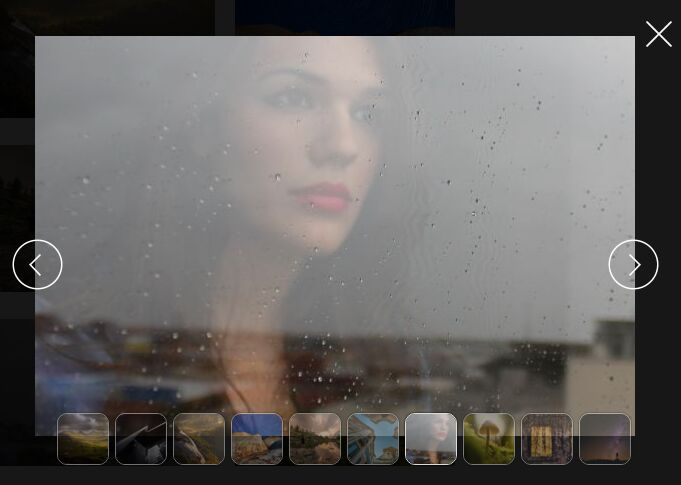 Full Window Modal-style Photo Gallery Plugin with jQuery