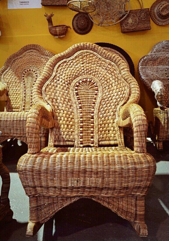 Diseño y elaboración de muebles en mimbre. Tapijulapa, Tabasco ...