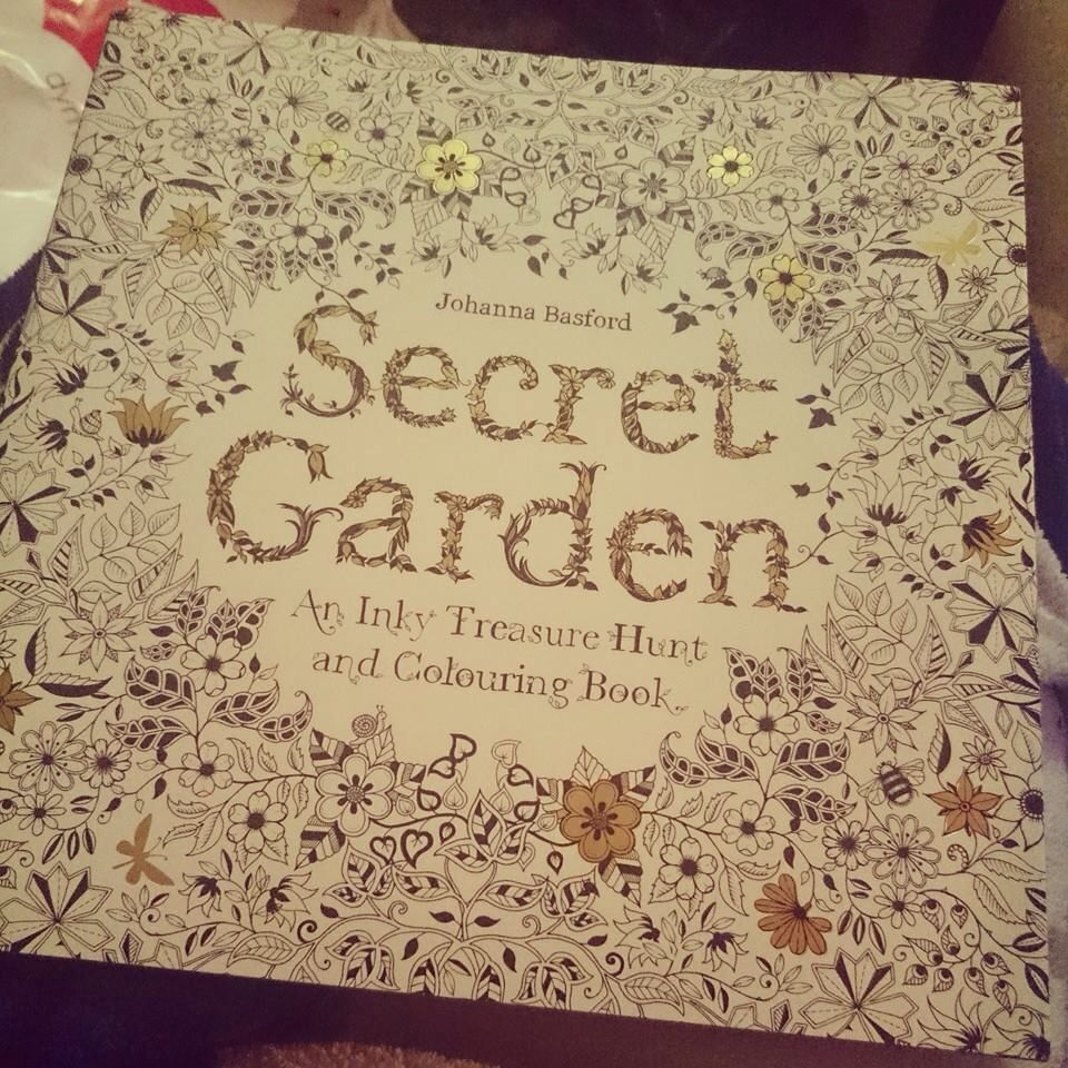 Colouring Book Good For Anxiety Approx 20 At Dymocks
