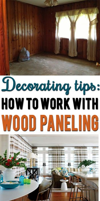 How To Decorate Around Dark Wood Paneling Wood Panel Walls