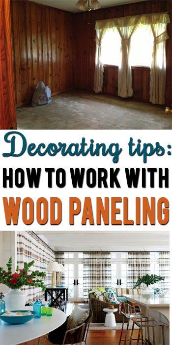 How To Decorate Around Dark Wood Paneling Wood Panel Walls