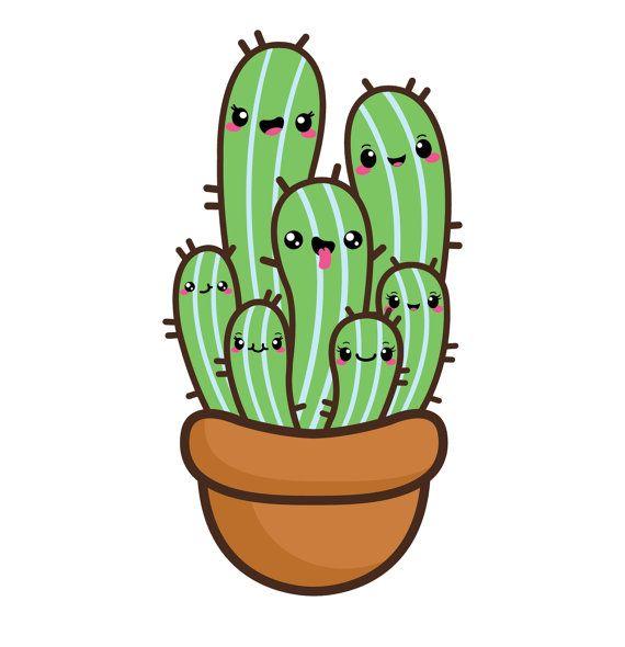 Kawaii Cactus Clipart Succulent Clipart Kawaii Cacti Valentine Clipart Kawaii Clipart Kawaii Succulent Cactus Clip Art Png Clipart In 2021 Cactus Clipart Kawaii Kawaii Drawings