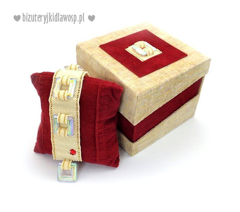 Kup Bransoletka Damska Serdeczna Bizuteryjki Na Aukcje Wosp Beaded Bracelets Beaded Embroidery Juki