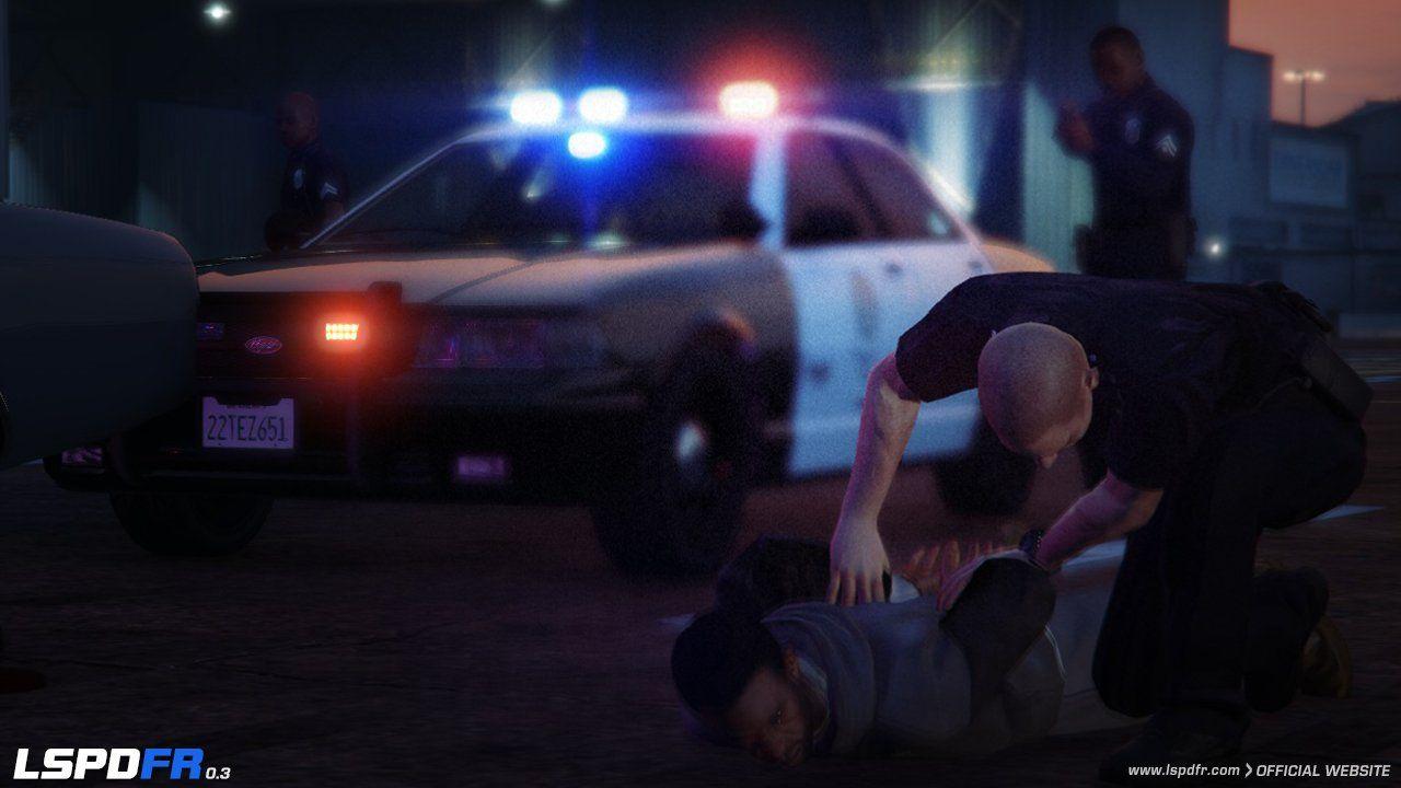 LSPDFR 0 3 Updated Arrest System Preview | GTABOOM