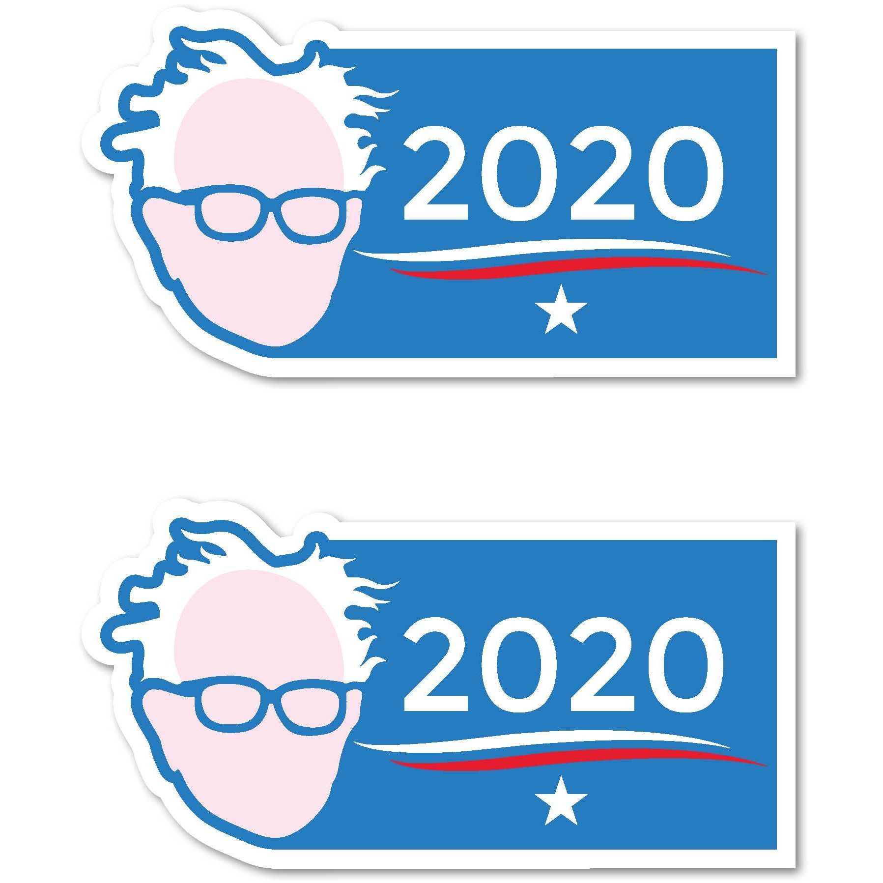 bernie sanders for president 2020 trump clinton 7 x3 5 bumper bernie sanders for president 2020 trump clinton 7 x3 5 bumper sticker decal bernie sanders products and clinton n jie