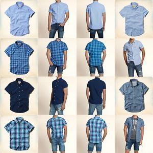 hollister button down shirts