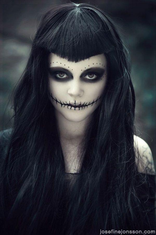 maquillaje para halloween - Como Maquillarse En Halloween
