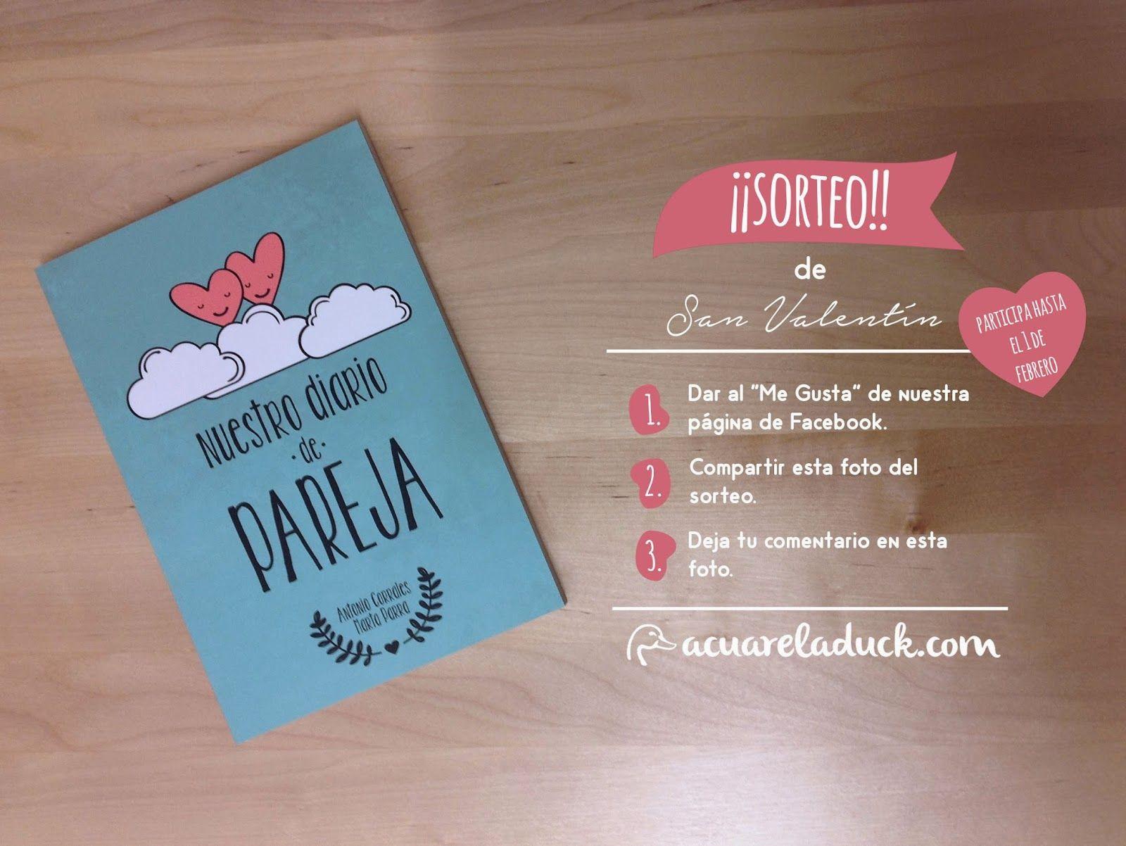 Sorteo San Valent N Libro Diario Para Rellenar En Pareja Regalos  ~ Regalos Originales San Valentin
