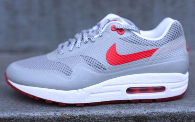 nike wmns air max 1 hyperfuse 3m matte silver \/ red \/