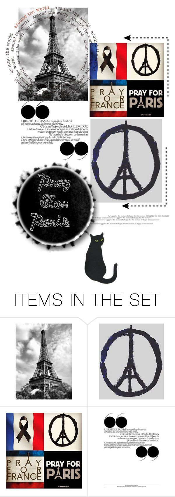 """""""PARIS"""" by ladybirdfb ❤ liked on Polyvore featuring art"""