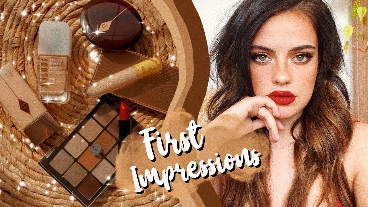 FULL FACE OF FIRST IMPRESSIONS Julia Adams YouTube in
