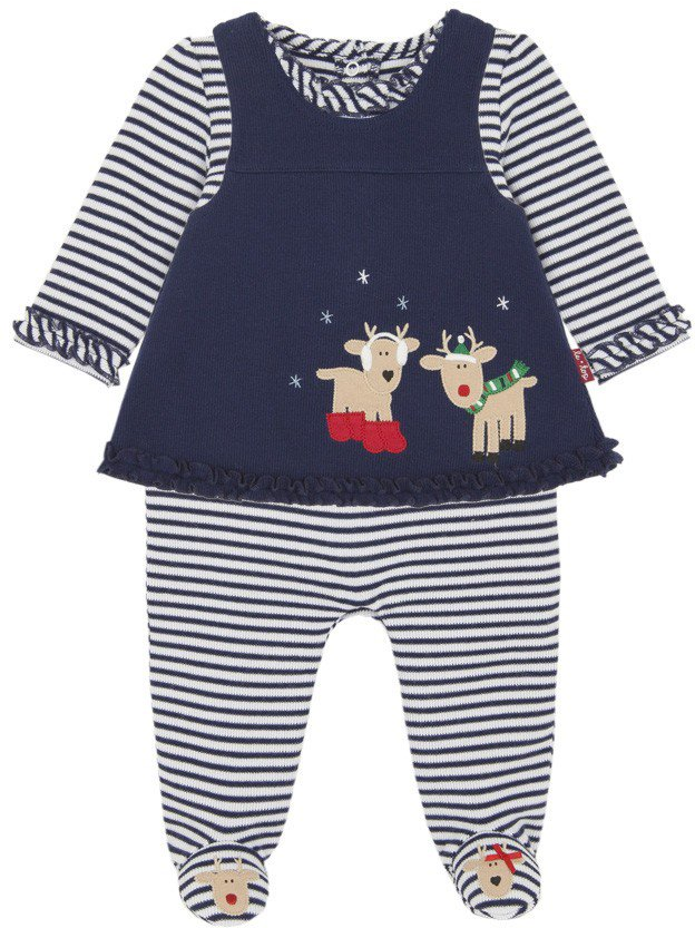 701999ac28cf  Haute Mommies and Bella Babies  love  Reindeer  Love  Pinafore Le Top