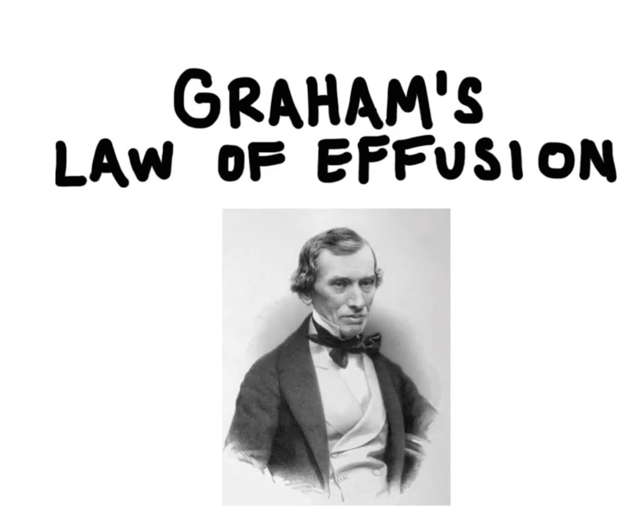 Graham S Law Of Effusion