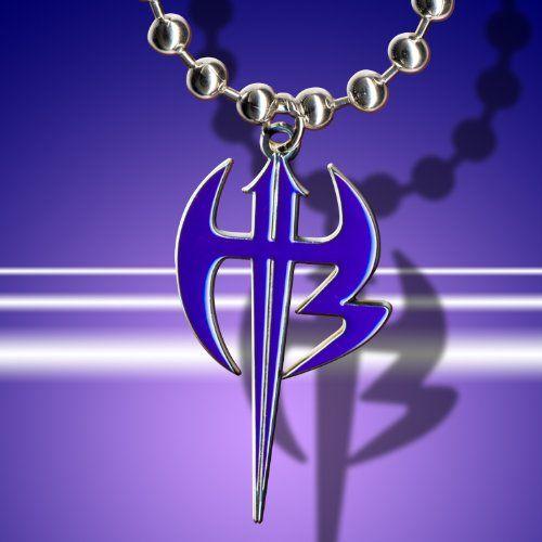 Amazon Com Wwe Jeff Hardy Purple Logo Pendant Wwe Jeff Hardy Necklace Jewelry Purple Logo Jeff Hardy Hardy