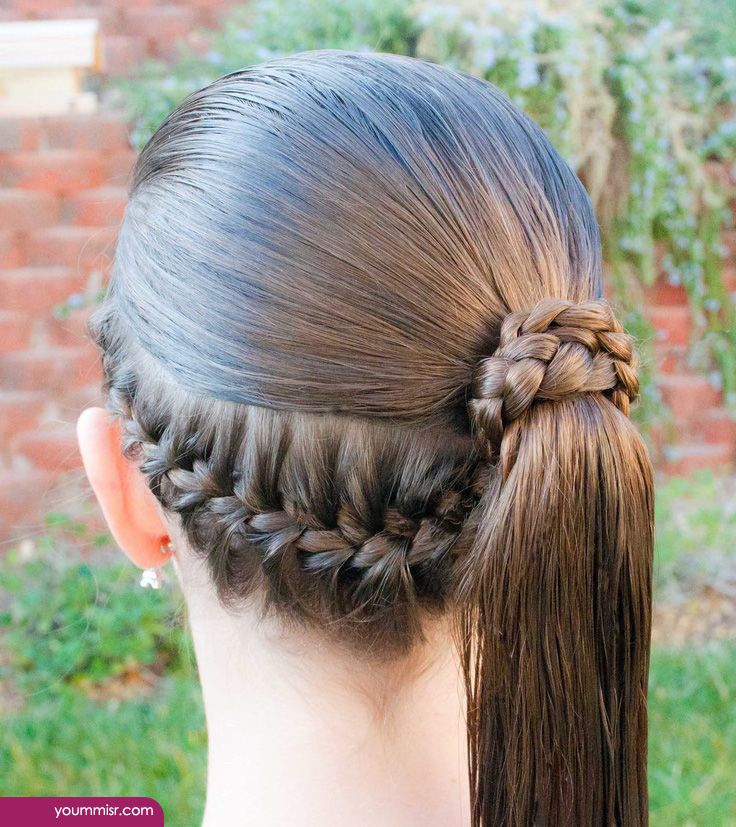 Cute School Girls Hairstyles 2019 Haircuts 2020 Hair Styles Formal Ponytail Ponytail Wrap