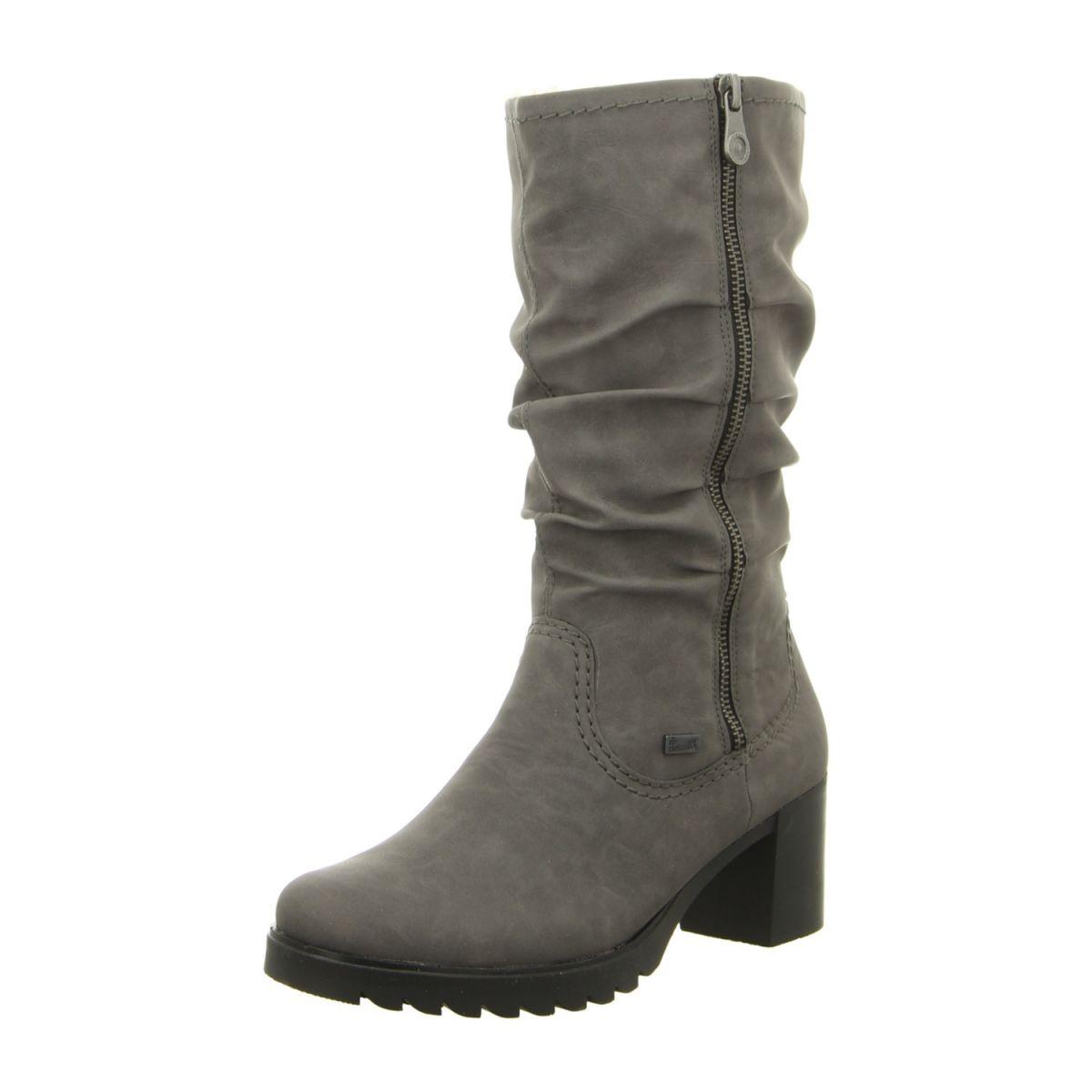 b072e9d6931d NEU  Rieker Stiefel Y8739-42 - grau -   Schuhe   Accessoires ...