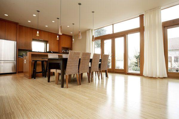 Kitchen Bamboo Floors