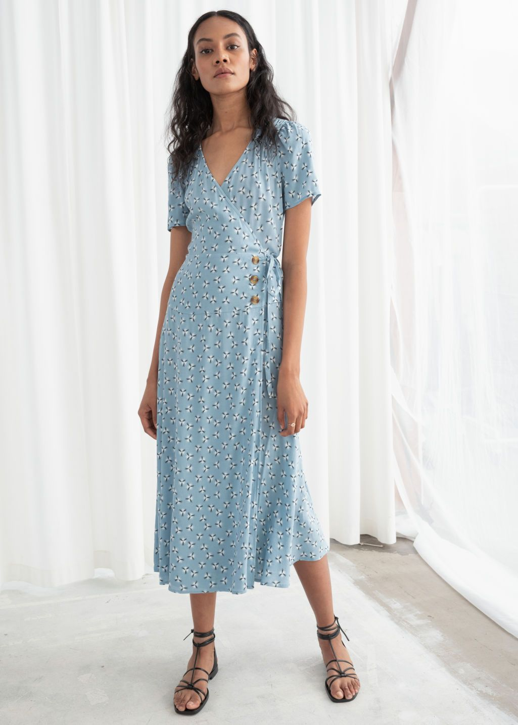 Zoomed Image Modest Dresses Fashion Midi Dress [ 1435 x 1025 Pixel ]