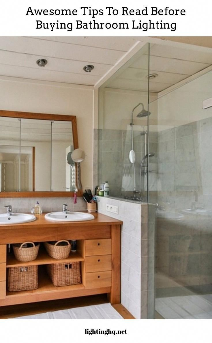 Photo of bathroom lighting tips and advice to read before buying new fixtures #bathroomli…