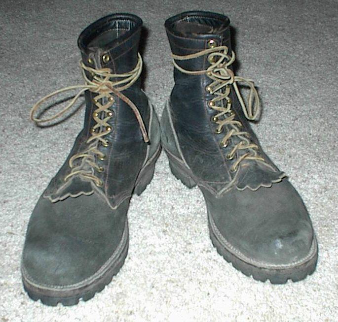 Size 14 W Whites? Wesco? Short Logger Boots #whites #WorkSafety ...