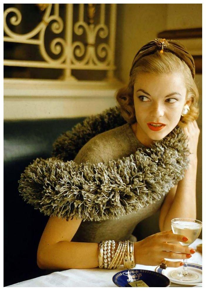 vintage fashion 1954 | vintage fashion-by-nina-leen-1954 | Fashion & style