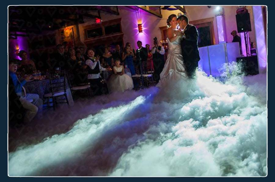 Dancing on Clouds Effect for Weddings in Greece