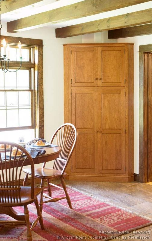 Kitchen Corner Pantry Shaker Kitchen Cabinets Door Styles Designs And Pictures Corner Pantry Building A Kitchen Kitchen Cabinet Door Styles