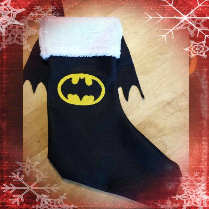 batman stocking i made batman christmas tree christmas 2015 christmas crafts christmas ornaments