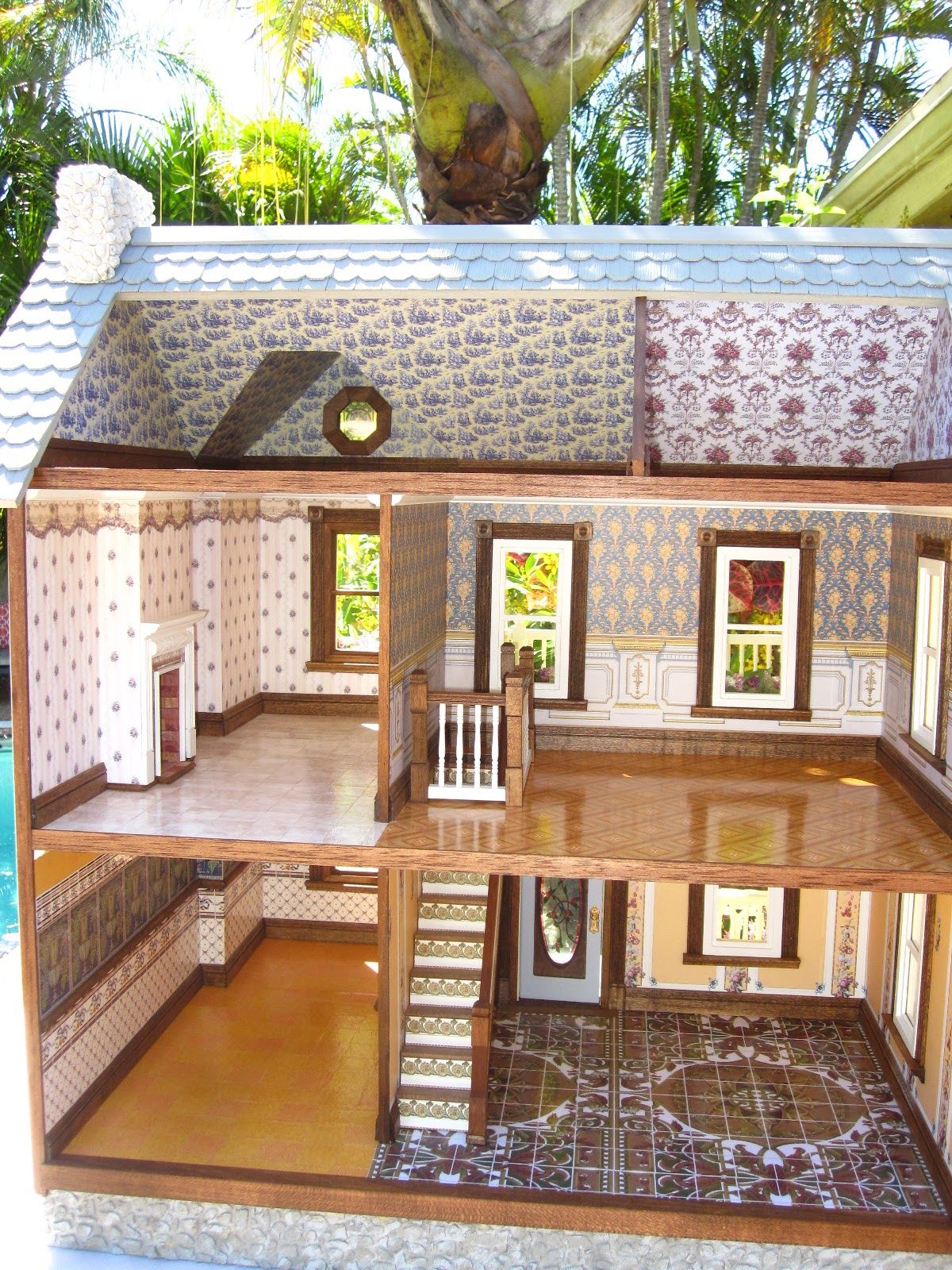 This Is The East Main Street Victorian Dollhouse After The