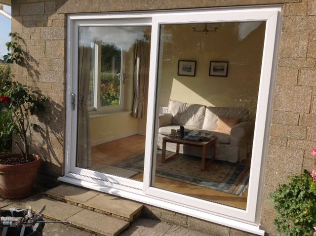 innovative design 3899f 18b6d How smart does this uPVC Patio Doors look? Available in ...