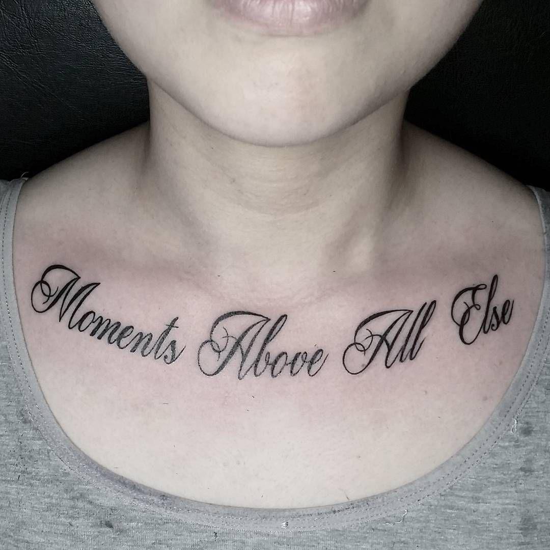 33 Fabulous Collar Bone Tattoos That Flatter Your Shape