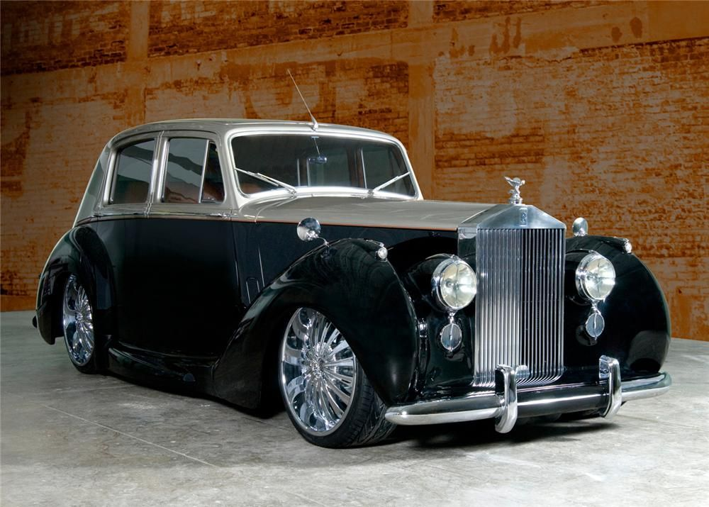 The Boys At Detroit Customs Are Taking It From The Street Mixing It Up And Sending It Right Back Out In T Rolls Royce Vintage Rolls Royce Classic Rolls Royce