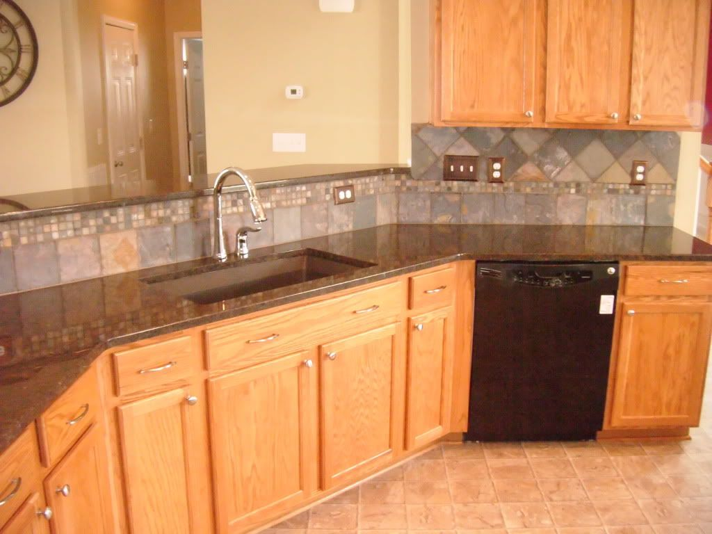 Marvelous Coffee Brown Granite Countertops Coffee Brown Granite Originates In India  This Was Installed For Homeowner Dunbar We Also Installed The Tile